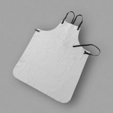 Schweißerschürze aus Rindnarbenleder mit Brustlatz
