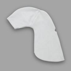 Kopf- und Nackenschutz aus Chromspaltleder