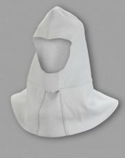 Kopfschutzhaube mit Brust- und Schulterlatz