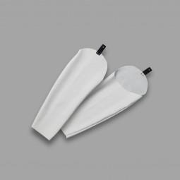 Schweißer-Schutzärmel mit Knopflochschlaufe nach CE/ISO 11611